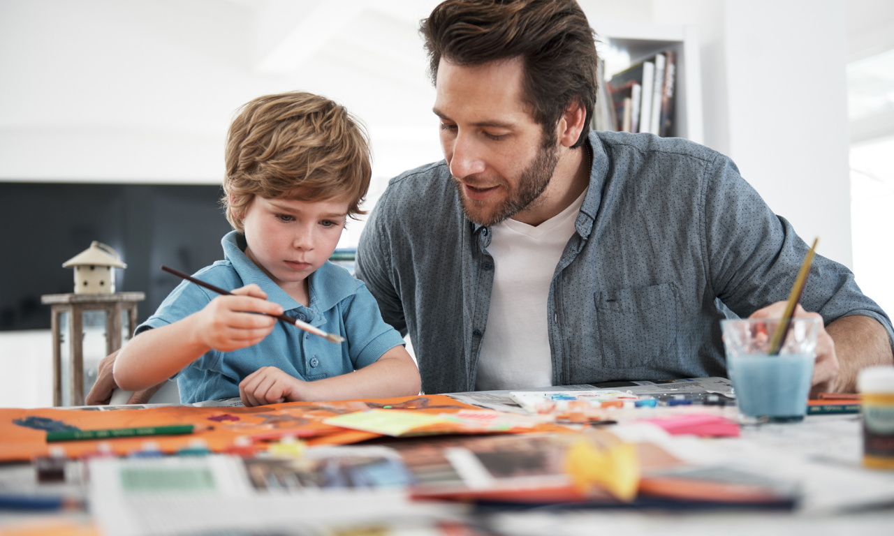Inspiring your preschoolers to be readers and artists