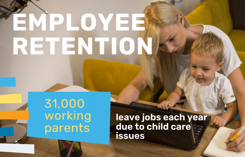 working parents leaving jobs due to child care issues