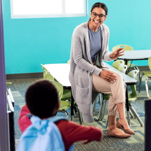 new child care classroom support