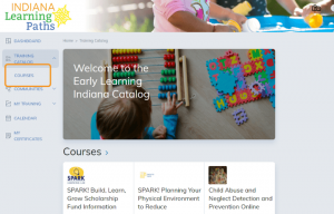 indiana learning paths courses