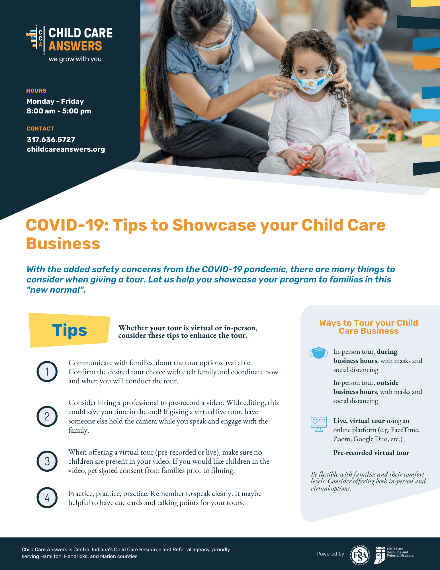 showcase your child care